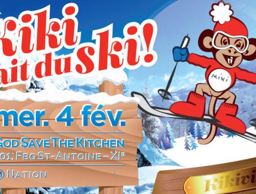 AFTERWORK DE KIKI – Kiki fait du ski,afterwork paris, afterwork gay