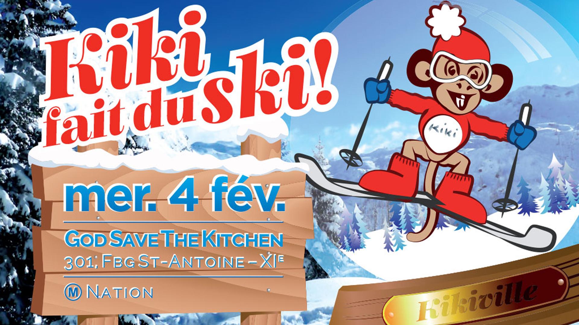 L'AFTERWORK DE KIKI – Kiki fait du ski - Kiki Factory