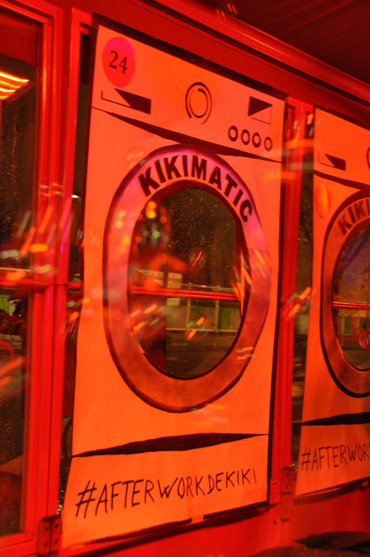 kiki lavomatic,afterwork de Kiki,afterwork Paris